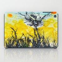 tim burton iPad Cases featuring Tim Burton by Jose Luis