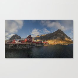 Port Of A Canvas Print