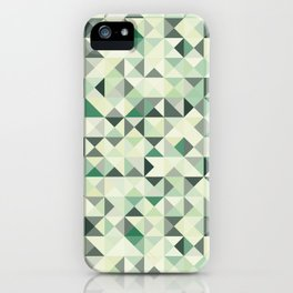 colorful Triangles 2 iPhone Case