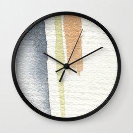 tri-color Wall Clock