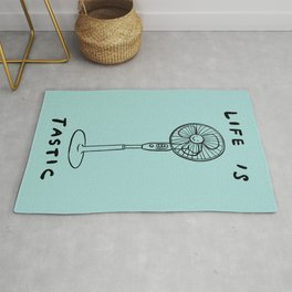 Life is Fantastic Rug