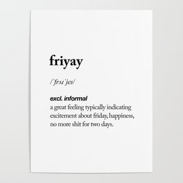 Friyay black and white contemporary minimalism typography design home wall decor bedroom Poster