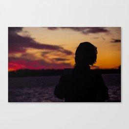 BEDOUIN SUNSET II Canvas Print
