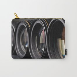 Row of photo lenses Carry-All Pouch