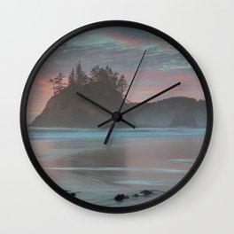 Pewetole Island Sunset Wall Clock