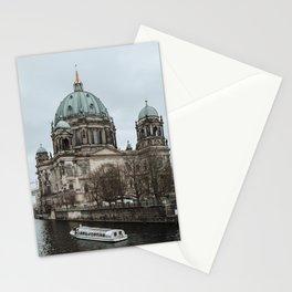 Boat ride in the Spree in Berlin Stationery Cards