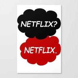 Netflix Netflix Canvas Print