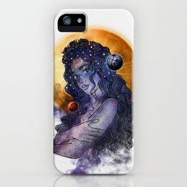 The queen of universe. iPhone Case