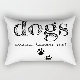 DOGS Rectangular Pillow