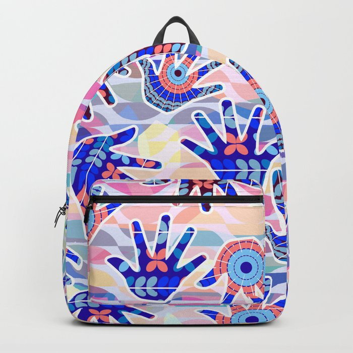 Colorful hands II Backpack
