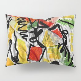 IS scarf 2 Relaxed Pillow Sham
