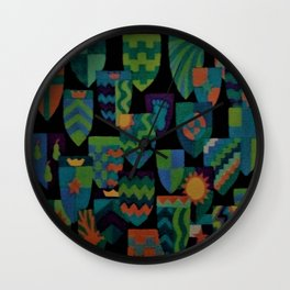 Shields of Dreams Wall Clock