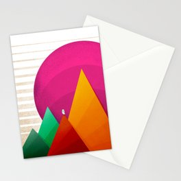 067 - Autumn sunrise Stationery Cards