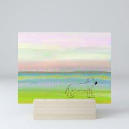 allie's dog Mini Art Print
