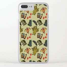 Kaiju Party Clear iPhone Case