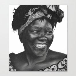 8: Rhinoceros Women Series Canvas Print