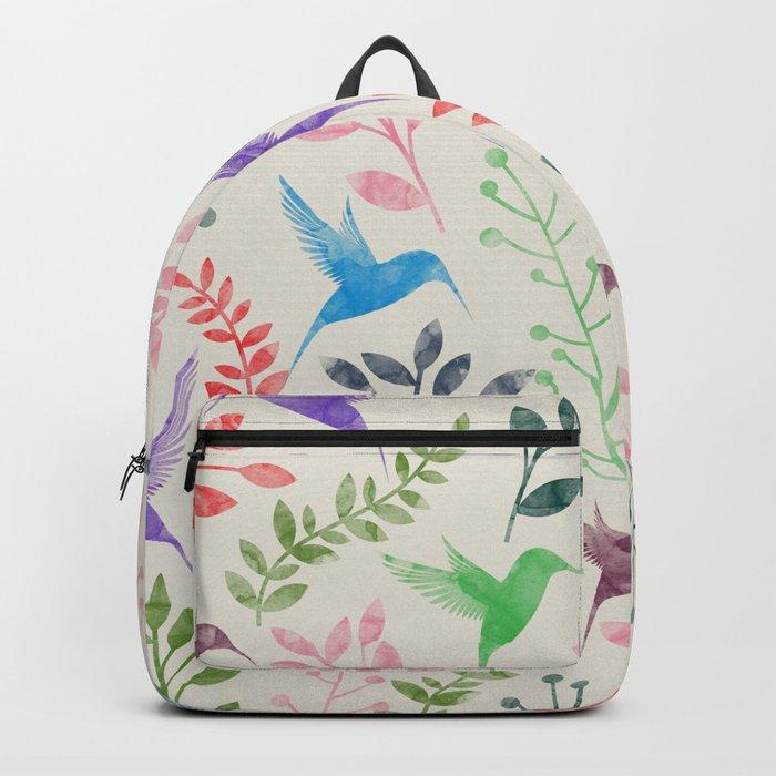 Floral & Birds II Backpack