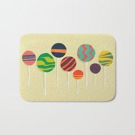 Sweet lollipop Bath Mat