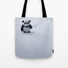 Zeke the Zen Panda Tote Bag