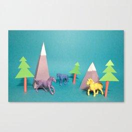 Where Horses Go to Die Canvas Print
