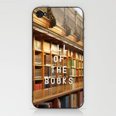 All Of The Books iPhone & iPod Skin