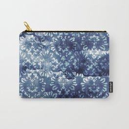 Indigo Batik Abstract Carry-All Pouch