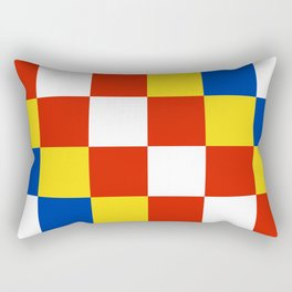 Antwerp flag belgium country region Rectangular Pillow