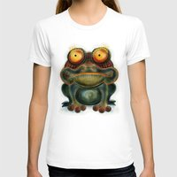 frog T-shirts featuring Frog by Riccardo Pertici