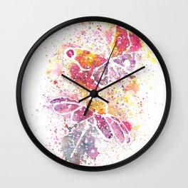 Beautiful Nature Watercolor Wall Clock