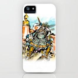 Benkei and Ushiwakamaru iPhone Case