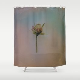 Once Upon a Time a Dancer Rose Shower Curtain