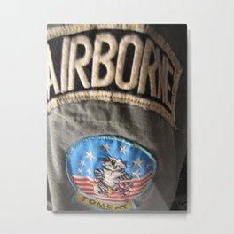 Airborne  Metal Print
