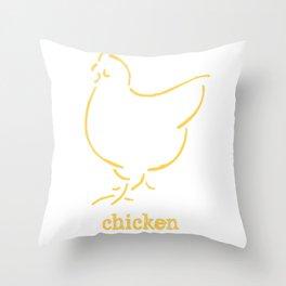 Chicken Throw Pillow