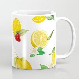 Lemon & Strawberry Coffee Mug