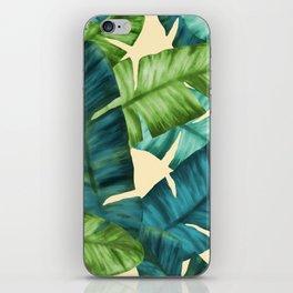 Tropical Banana Leaves Original Pattern iPhone Skin