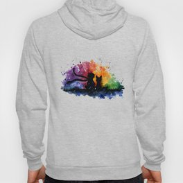 El Principito The Little Prince Fox Book Watercolor Art Hoody