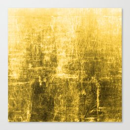 SunYellowTextured & Distressed Design Canvas Print