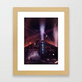Andover Esate, Blade Runner Style Framed Art Print