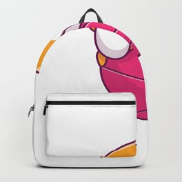 Cute hamster playing ball Backpack