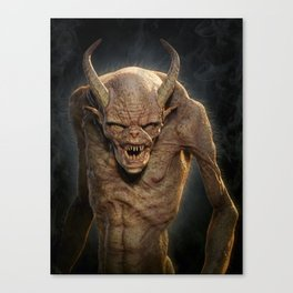Demon III Canvas Print