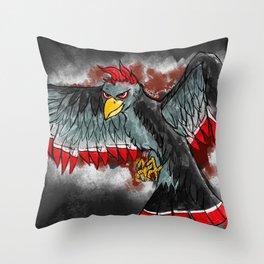 Ying-Ying Bird Throw Pillow