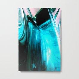 Glass Abstract Metal Print