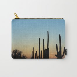 Sunset Cacti 2 Carry-All Pouch