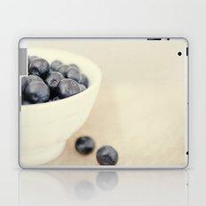 bowl of blueberries Laptop & iPad Skin