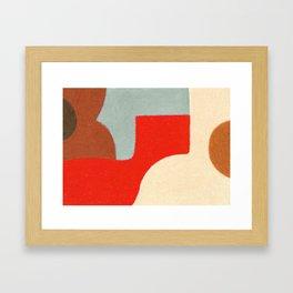 Crossing Town Framed Art Print