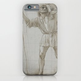 Donato Bramante - St Christopher with the Infant Jesus iPhone Case