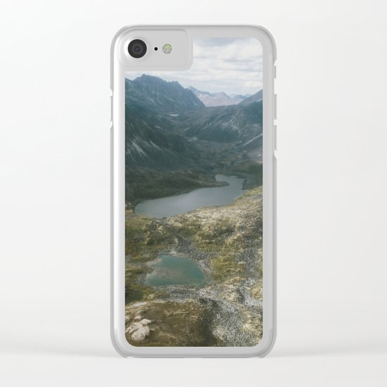 Mackenzie Mountains Clear iPhone Case