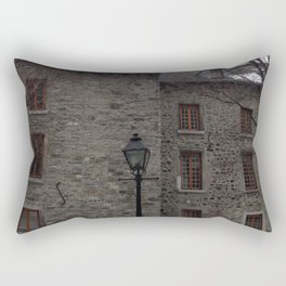 Old Montreal Stone Architecture Rectangular Pillow