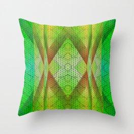 digital texture Throw Pillow