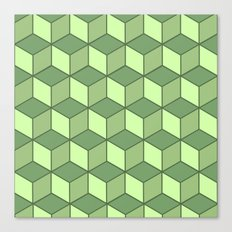 Lime cubes Canvas Print